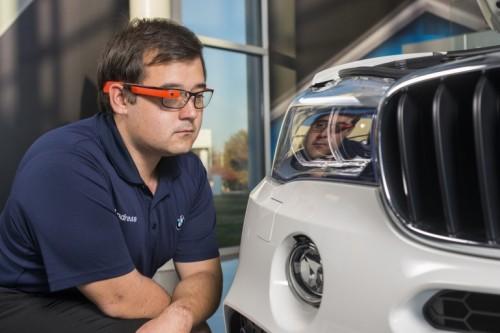 BMW Otomobil Fabrikalarında Google Glass Teknoloji Devrimi