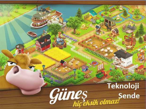 Hay Day Çiftlik oyunu yaklaşık Sekiz milyon kişinin oyu ile Türkiye'de çok sevilen mobil oyun son güncellemesi 31 Ekim 2016'da kullanıcılarına sundu.