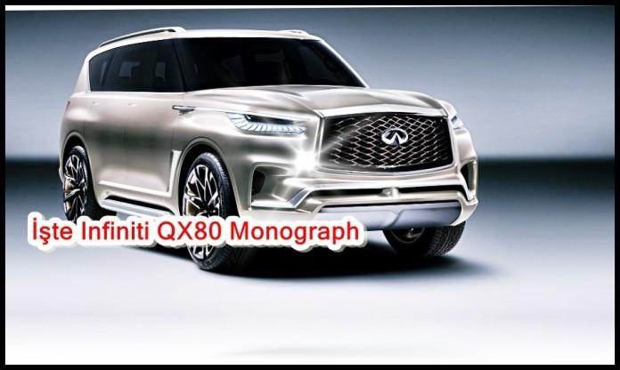 Infiniti, QX80 Monograph SUV'i Tanıtacak | Teknoloji Haberleri